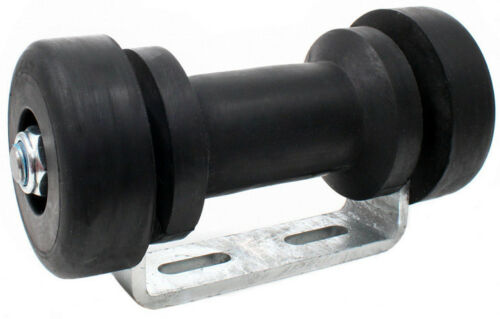 ⚓ Kielrollenhalter U-Halter Kielrolle 120 o 200 mm EndkappenSliprolle Boot