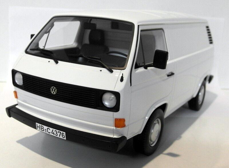 Bos 1 18 Scale resin - 213615 VW Volkswagen T3a Kastenwagen Transporter Weiß    Ruf zuerst