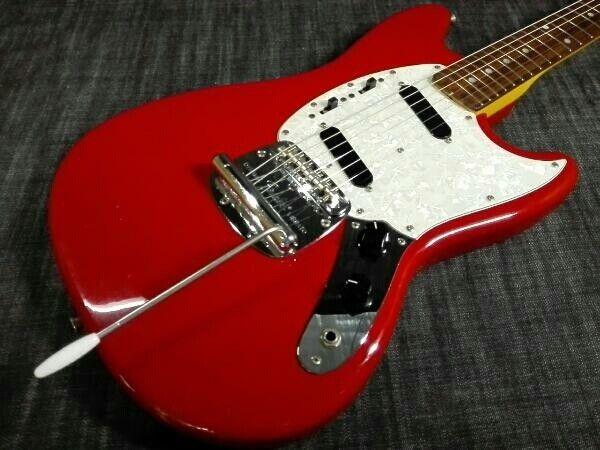 Electric Guitar Fender Japan MUSTANG beutiful JAPAN rare useful EMS F S