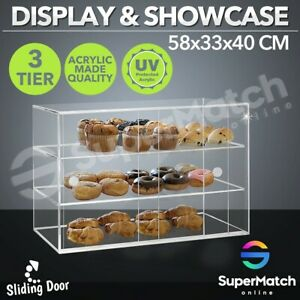Cupcake-Display-Large-Acrylic-Cake-Bakery-Cabinet-Muffin-Donut-Pastries-5mm