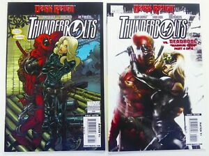 Marvel-THUNDERBOLTS-130-2nd-Print-131-DEADPOOL-App-MATTINA-VF-NM-Ships-FREE