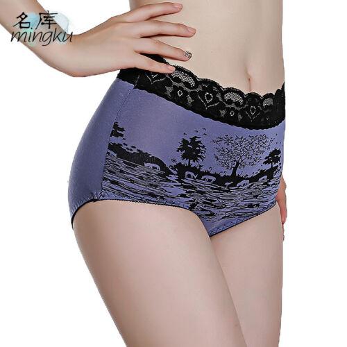 Women Menstrual Period Briefs Cotton Underwear Leakproof Panties