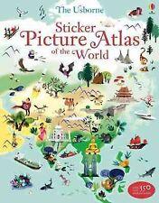 Sticker Picture Atlas of The World by Nathalie Ragondet 9781409550013