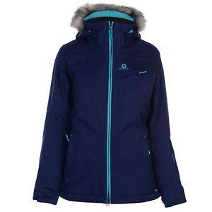déperlant femme à Salomon pour Manteau et Ski glissière Jacket à Rise zippé fermeture xXYRFwqH6