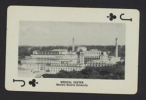 Medical-Center-Western-Reserve-University-Cleveland-Ohio-playing-card-1-card