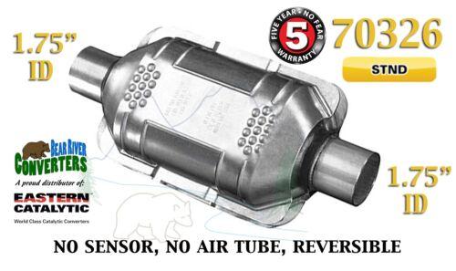 "70326 Eastern Universal Catalytic Converter Standard 1.75"" 1 3//4"" Pipe 10"" Body"