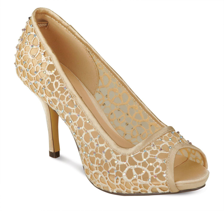 Ladies Peep Toe Sparkle Sparkle Sparkle Diamante Mesh Insert Women's Party Court shoes Heels 73f766