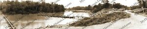 Fort-Benning-Georgia-Pontoon-Bridge-Demo-1941-Panoramic-Photo-Reprint-8-034-x-40-034
