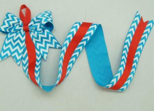 Kids Girls Hair Bow Grosgrain Ribbon Baby Hair Clip Holder Storage Organizer