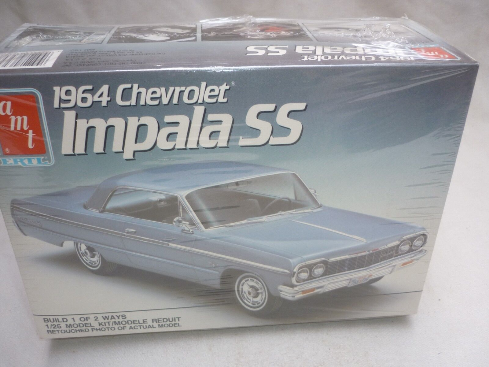AMT   Ertl un-opened plastic kit of a 1964 Chevrolet Impala ss, Factory sealed