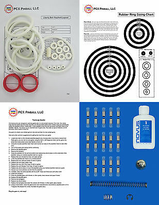 1977 Gottlieb Bronco Pinball Deluxe Tune-up Kit Includes Rubber Ring Kit