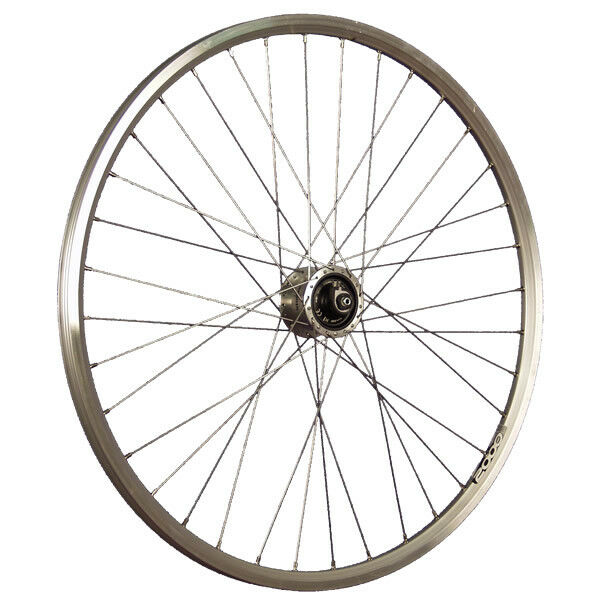Taylor Wheels 28 Zoll Vorderrad Ryde Zac2000 Nabendynamo Shimano DH-3D72 silver