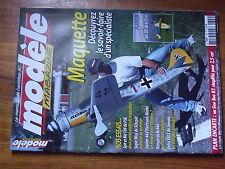 $$1 Revue modele magazine N°629 Plan encarte Gee Bee R2  Spitfire  Me 109