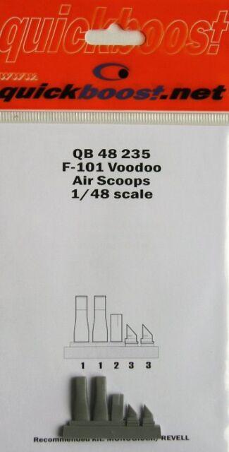 Quickboost 1/48 f-101 Voodoo AIRE PALAS PARA monograma/Revell #48235