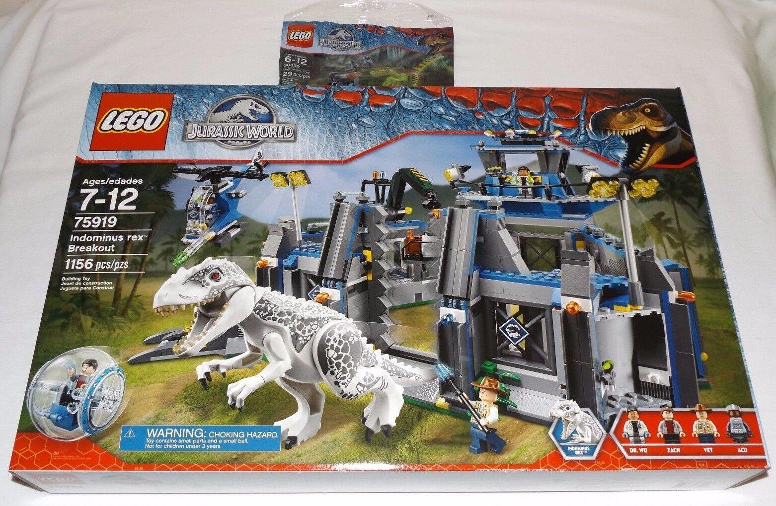 LEGO Indominus Rex Breakout  Gtuttiimimus Trap 75919 30320 Jurassic World Zach  rivenditori online