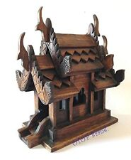 Thai Buddhist Handmade Spirit House Temple Haunted Free Shipping Made From