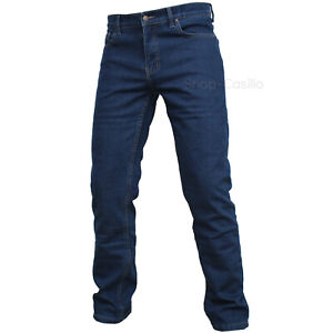 Jeans-pantalone-da-lavoro-uomo-invernale-felpato-Imbottito-pile-vita-alta-classi