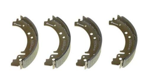 BREMBO 4x Bremsbacken Bremsbackensatz für Trommelbremse Hinten S 41 501