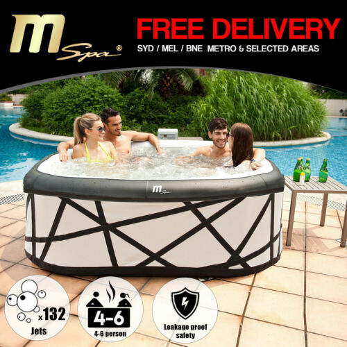 4-6 Person Luxury Inflatable Portable Spa Pool
