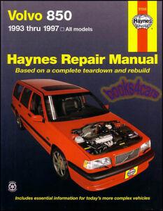 93 97 volvo 850 shop manual t5 service repair book haynes workshop rh ebay ie