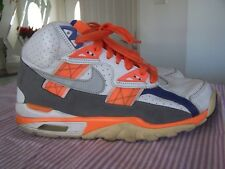 NIKE AIR Mens Trainer SC Hi Retro Blue Orange Shoes Size 9.5 (2009) Bo Jackson