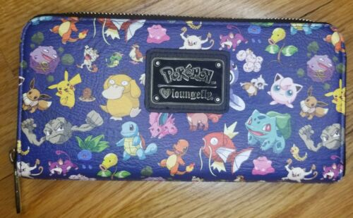 Loungefly Pokemon Wallet USED