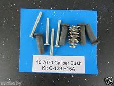 Freeline bushing kit for rear caliper CX HQ brake system Study photos