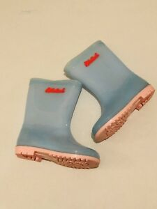 later new list best deals on Details about Billieblush Girls Wellies Blue Pink Girls Designer Clothes  Size Uk 11