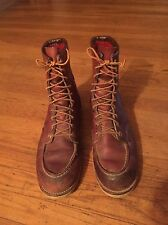 Vintage 50's 60s Red Wing Irish Setter Insulated Lined Sport Boots Sz 10-11  USA