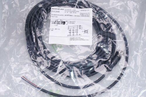 IFM Kabeldose EVC646 M12  Anschlusskabel mit Buchse 10m  4 x 0,34 mm² NEU