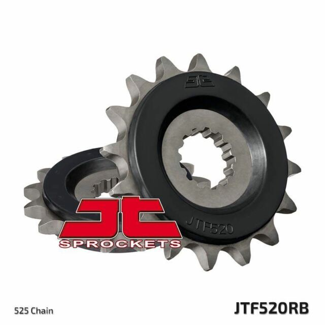 Piñón Con Goma Delantero JTF520.17RB Suzuki GSX-R1000 K1-K6 525 Con 01-06