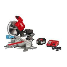 Milwaukee Miter Saw Kit One 120ah Battery 12 Inch Dual Bevel M18 Fuel 18 Volt