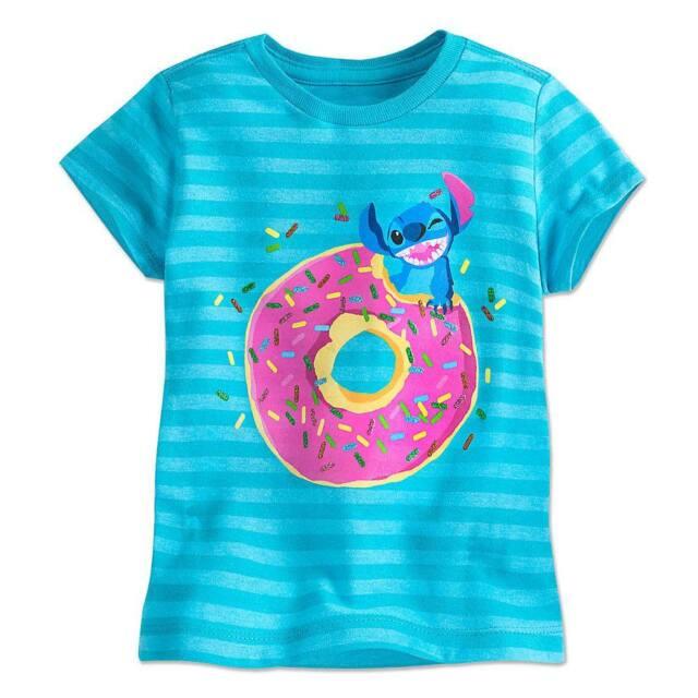 Ohana Touch my Phone Disney Cute Lilo and Stitch Kids Boy Girl Top T-Shirt 1027