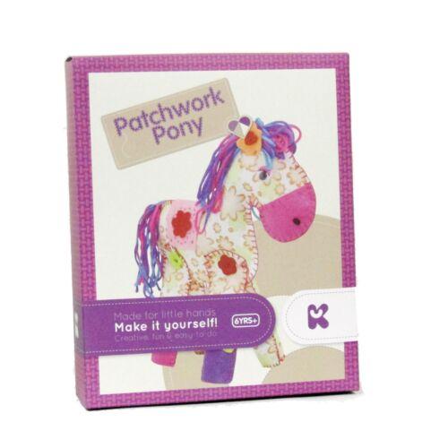 Make Your Own Pony Kit Patchwork Craft Keycraft AC117 Sew Stitch Beginners K45