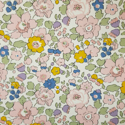 - 100/% COTTON FABRIC T ALL SIZES LIBERTY TANA LAWN BETSY