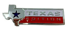GENUINE TEXAS EDITION FORD F150 F250 F350 TAILGATE EMBLEM BADGE REAR OEM NEW