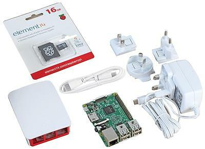 Raspberry Pi 3 Official Starter Kit with HDMI Lead (White)