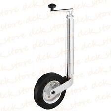 Ruota ruotino di sollevamento carrello appendice rimorchio roulotte registrabile