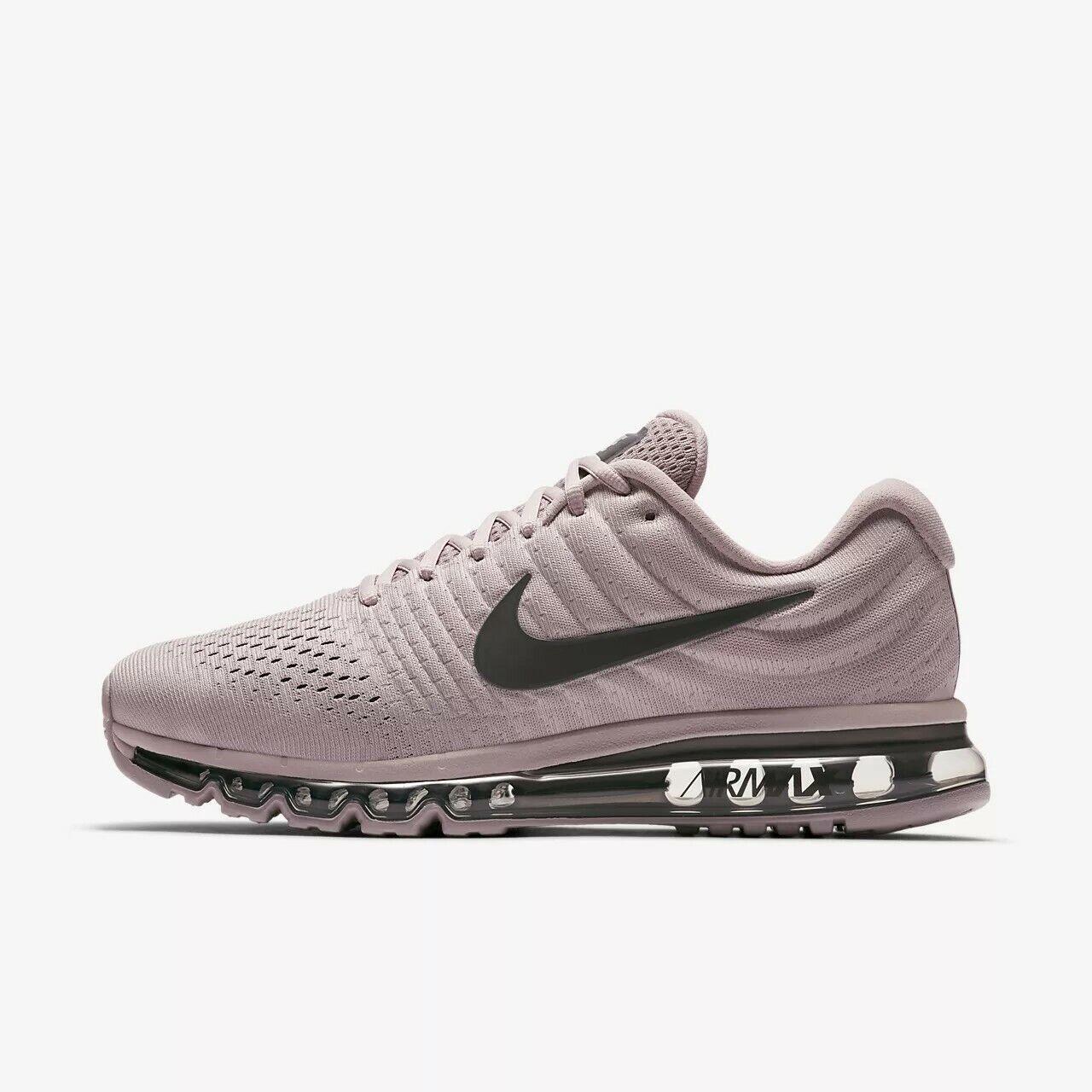 UK 10 Men's Nike Air Max 2017 SE Pink Grey Trainers EUR 45 US 11 AQ8628-600