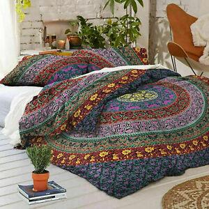 Bedding-Set-Duvet-Doona-Quilt-Cover-King-Size-Bed-Mandala-Hippie-Gypsy-Indian