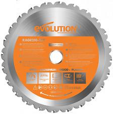Evolution RAGE Multi-Purpose Carbide-Tipped Blade, 210 mm