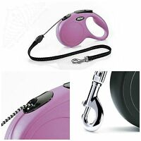 Classic Flexi Cord Retractable Dog Leashes 6 Styles-- U Choose Free Shipping