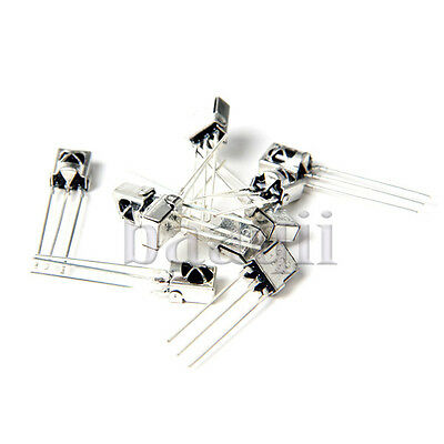 10Pcs TL1838 VS1838B HX1838 Universal Infrared Receiver with Metal case A857