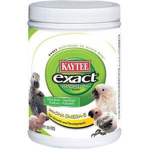 KAYTEE-EXACT-510G-18OZ-TUB-BABY-BIRD-PARROT-HAND-FEEDING-REARING-FORMULA-FOOD