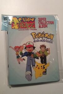 Pokemon-Series-1-Sticker-Album-Vintage-1999-Factory-Sealed-Includes-12-Pages