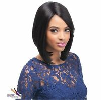 Outre Quick Weave Eco Synthetic Wig Erica Medium Bob Style Flat Iron Safe