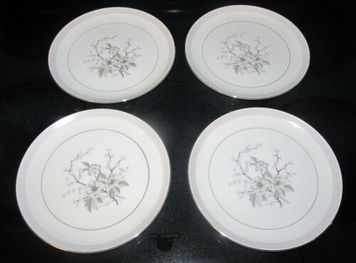 "Harmony House Fine China 6"" Nannette Bread & Butter Plates Made in Japan 3532"
