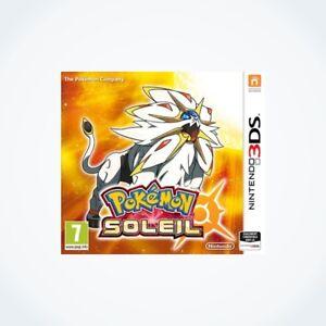 POKEMON-SOLEIL-sur-Nintendo-3DS-Neuf-Sous-Blister-Version-FR