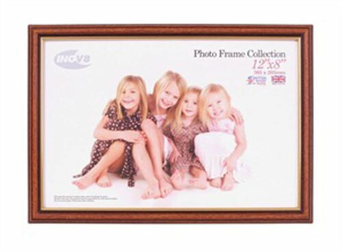 Inov8 British Made Traditional Picture//Photo Frame Light Oak 12x8-inch