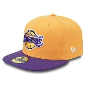 NEW ERA 59FIFTY JERSEY POP LOS ANGELES LAKERS THE NBA FITTED CAP CAP ... 49de2673e76